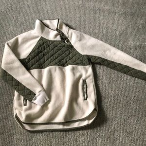 Abercrombie and Fitch Button Neck Sweatshirt